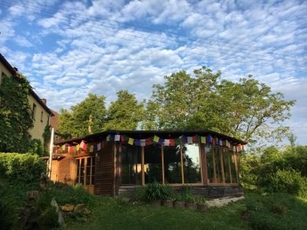 Pavillon für Meditation und Vajratanz